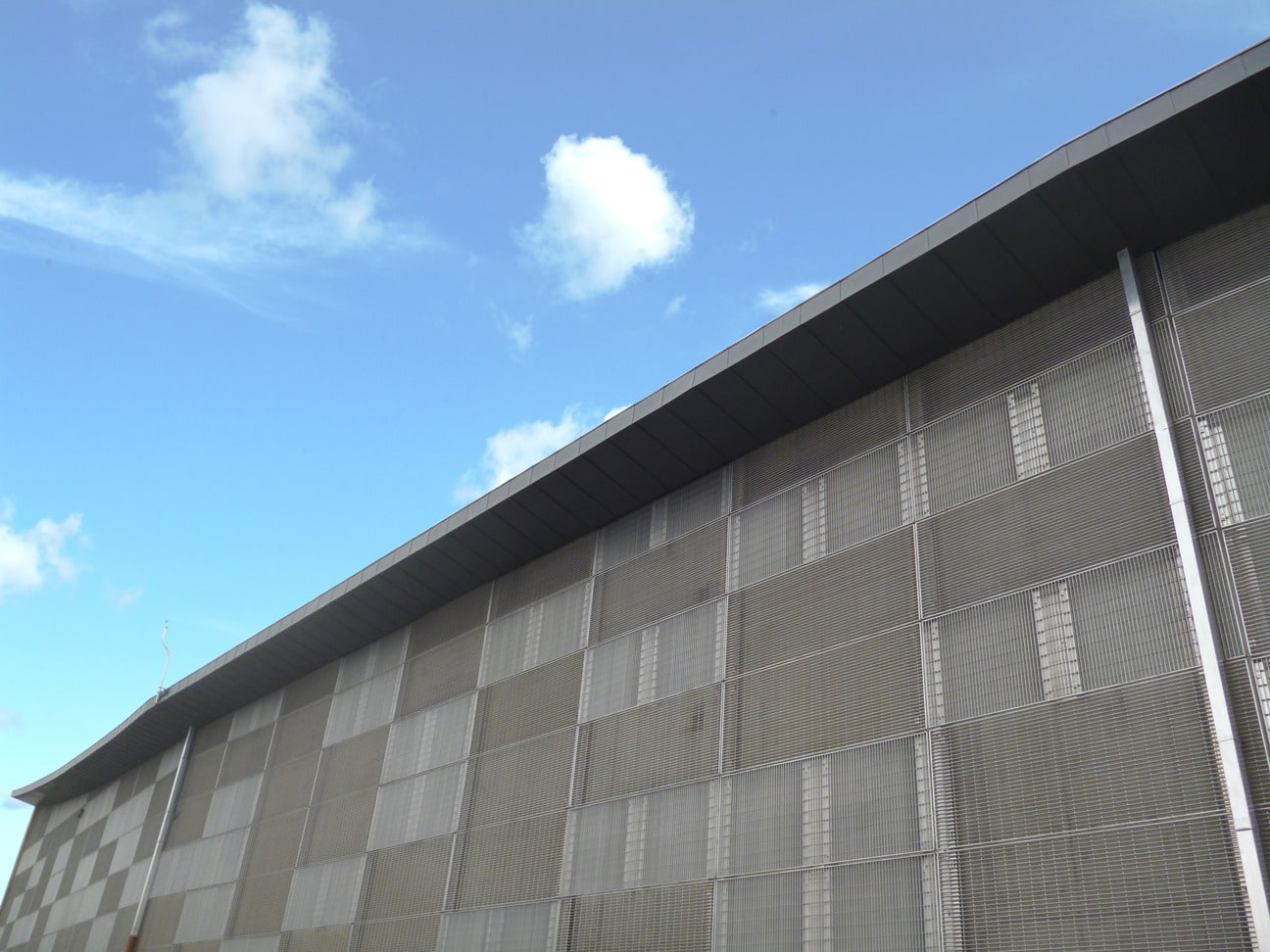 metal grille cladding