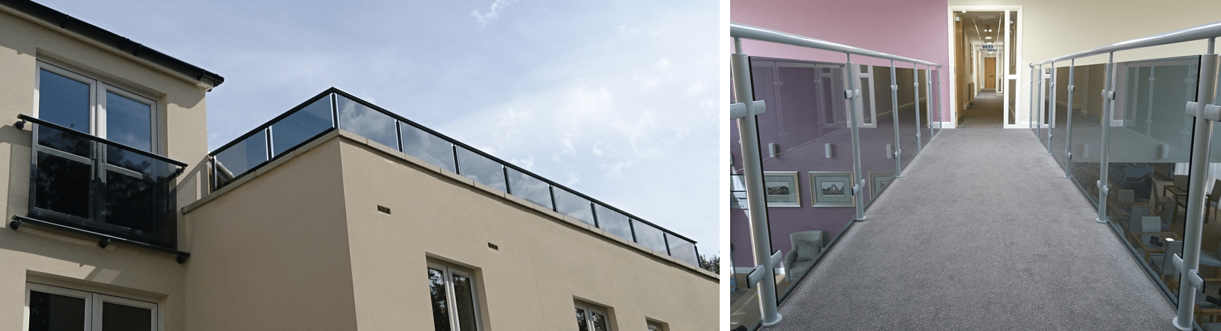Balcony balustrade for contemporary design solutions for Balcony company