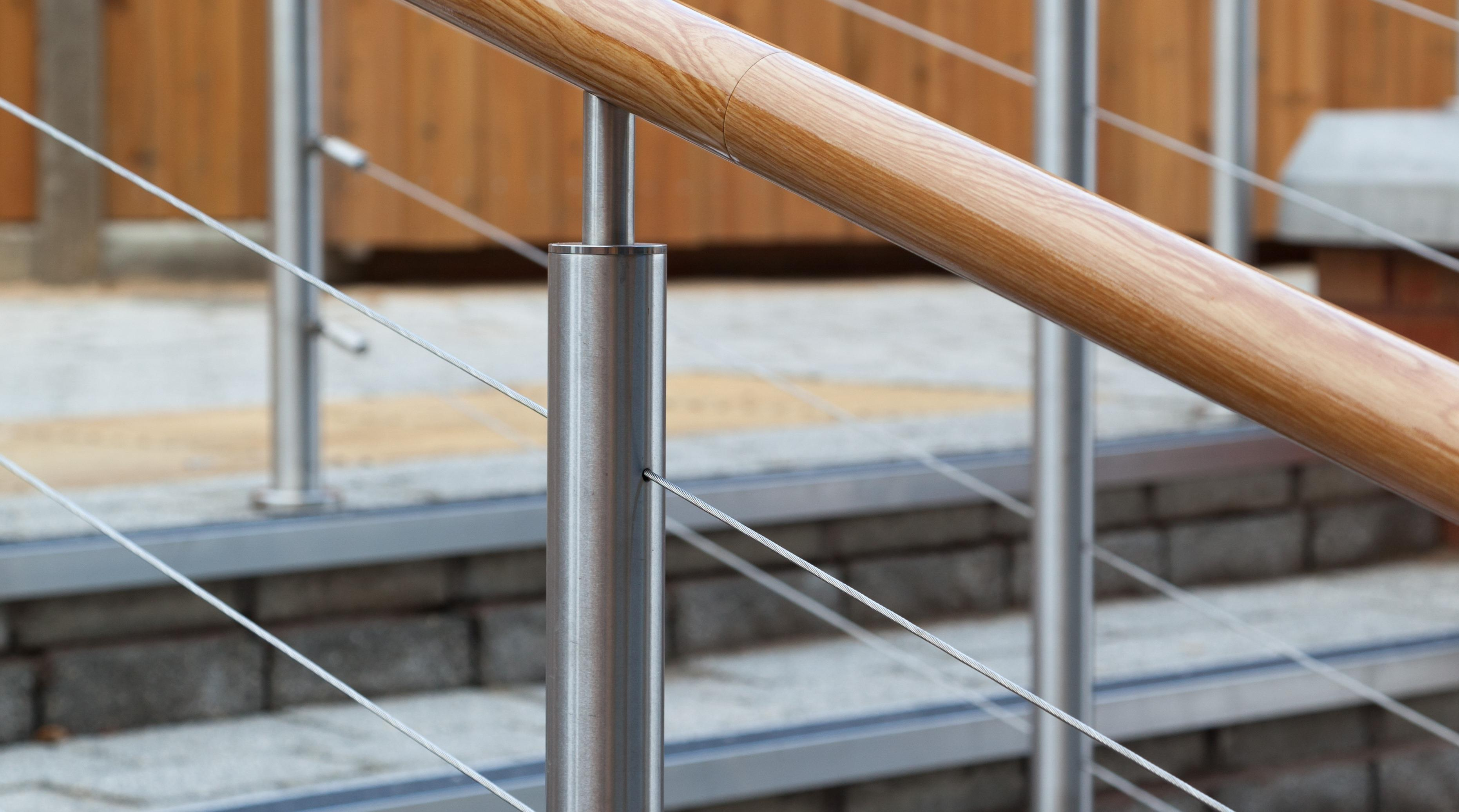 balustrade wire infill