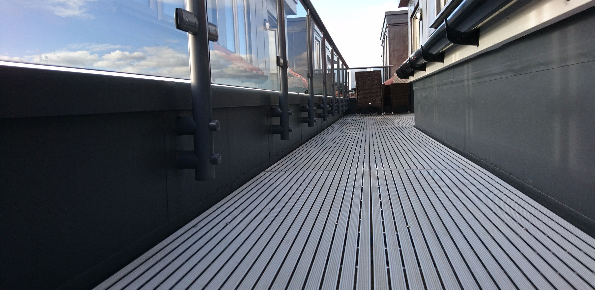 A1 rated decking