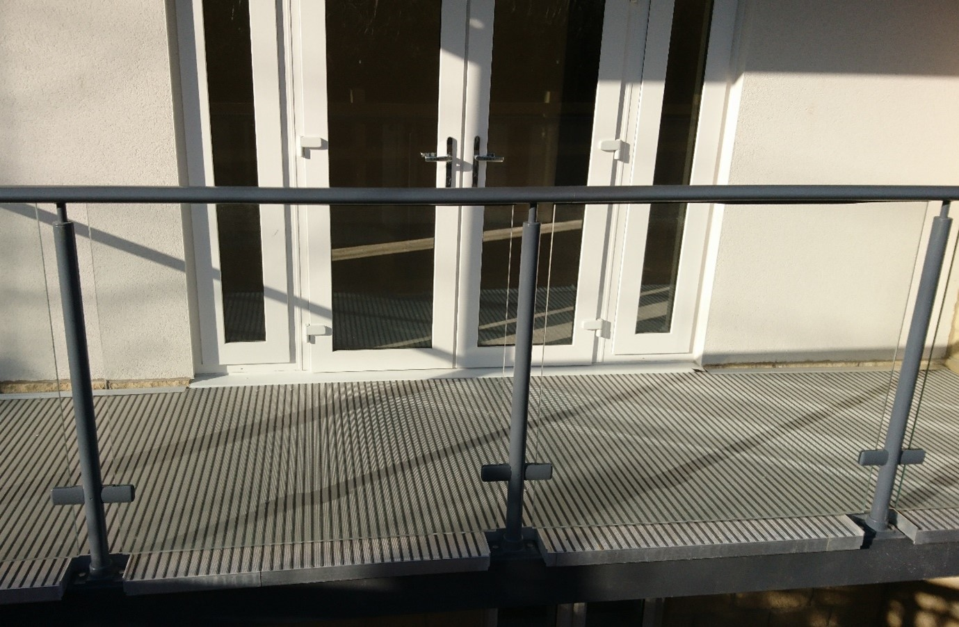 A2 balcony decking fire safety