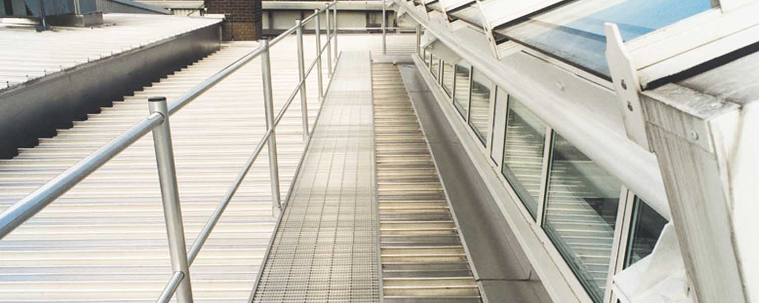 Roof Access Walkways - Everything you need to know